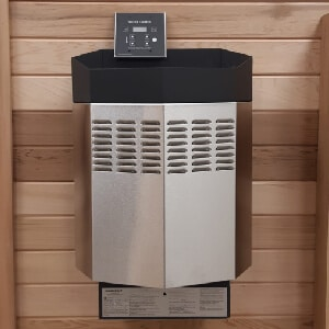 Electric Heater 6 KW.<br>With digital control and heater stones.
