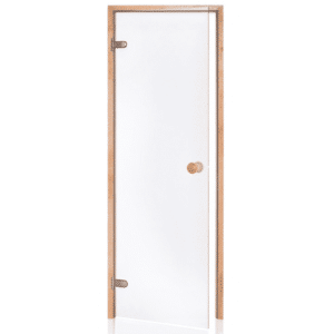 Alder Frame Door<br> Clear Glass<br>690x1890mm<br>(27 1/8″ x 74 3/8″)<br>Left or Right Hand Opening