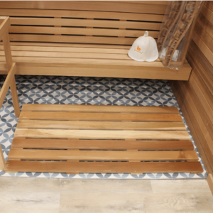 Floor Board In Walking Area Only<br>1 x 4 Clear Western Red Cedar
